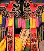 Nativní šaty ornamenty — Stock fotografie