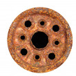 Heavily Corroded Wheel — Stock Photo #1955658