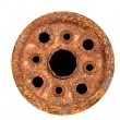 Stock Photo: Heavily Corroded Wheel