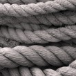 Stock Photo: Closeup of Old Ropes