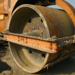 Stock Photo: Heavy Steamroller