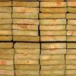 Thick Wooden Planks — Stock Photo