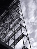 Large Scale Scaffolding — Stock Photo