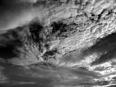 Wind Swept Sky Scape — Stock Photo