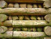 массивной подпорной стены — Стоковое фото