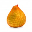 Ripe fruit of pomelo in bag, isolated — Stock Photo #2158591