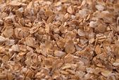 Sfondo di farina d'avena schiacciata — Foto Stock