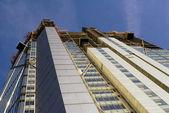 Здание в Кэнэри-Уорф — Стоковое фото