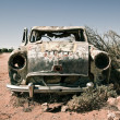Royalty-Free Stock Photo: Old car in the desert