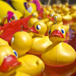 Stock Photo: Lots of rubber ducks