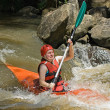white water kayaking — Stock Photo #1196333