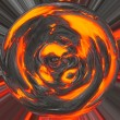 Stock Photo: Magma planet