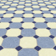 Tiled floor background — Stock Photo