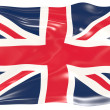 Flag of United Kingdom — Stock Photo #1197423