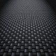Stock Photo: Carbon fibre background