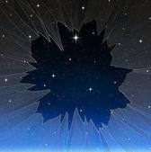 Estrela brilhante — Fotografia Stock