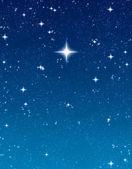 Helle wünschen Sterne — Stockfoto