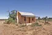 Old building in desert — Stock Photo