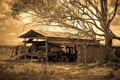 The old farm shed — Zdjęcie stockowe