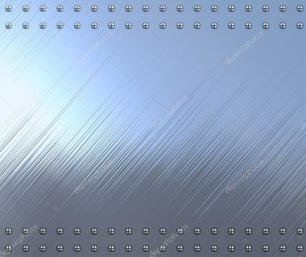 Highly polished and reflective stainless steel background — Stock Photo #1196399