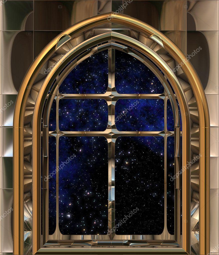 Fen tre gothique ou de science fiction la recherche dans for Fenetre gothique