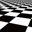 Stock Photo: Balck and white tiles