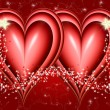 Two hearts and stars — Stock Photo #1212457