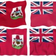 Flag of Bermuda — Stock Photo