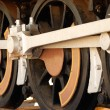 Steam train wheels — Stock Photo #1213031