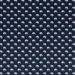 Dark blue studded plate — Stock Photo