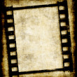 Grungy film strip or photo negative — Photo