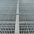 Metal grid walkway — Stock Photo #1214124