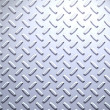 Stock Photo: Steel diamond plate