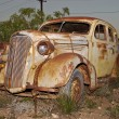 Old rusted car — Stock Photo #1214728
