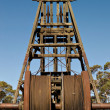 Winder at broken hill — Stock Photo