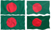 Flag of Bangladesh — Stock Photo