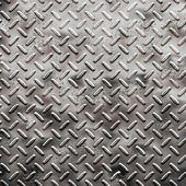 Rough black diamond plate — Stock Photo