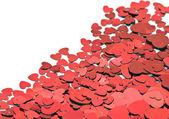 Lots of hearts — Stock Photo