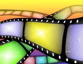 Resumo de película fotográfica — Fotografia Stock