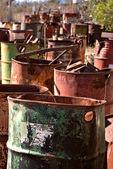 Old barrels — Stock Photo