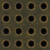 Gamla metall grill — Stockfoto