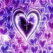 Technologia miłości — Zdjęcie stockowe