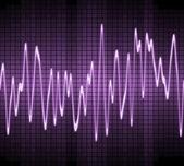 Elettronica suono sinusoidale — Foto Stock