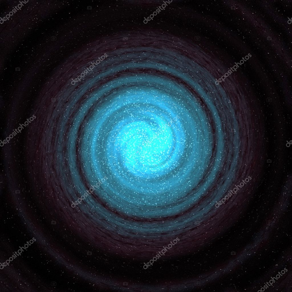 Image of a swirling galaxy or vortex in space — Stock Photo #1214727