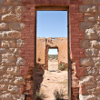 Old ruins doorway — Stock Photo