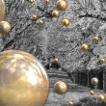 Autumn bubbles — Stock Photo #1244408