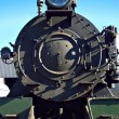 Close up of steam train - Stock Photo