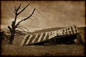 Old farmhouse ruins — Stock Photo