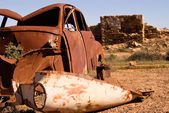 Rust and ruins — Stock Photo