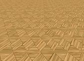 Wood floor tiles — Stock Photo